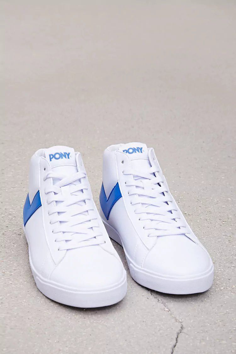 b15128d2a1c Product Name Pony Leather High-Top Sneakers