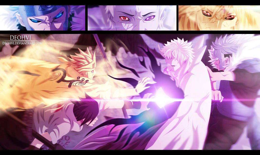 Naruto 641 Coloring by DEOHVI