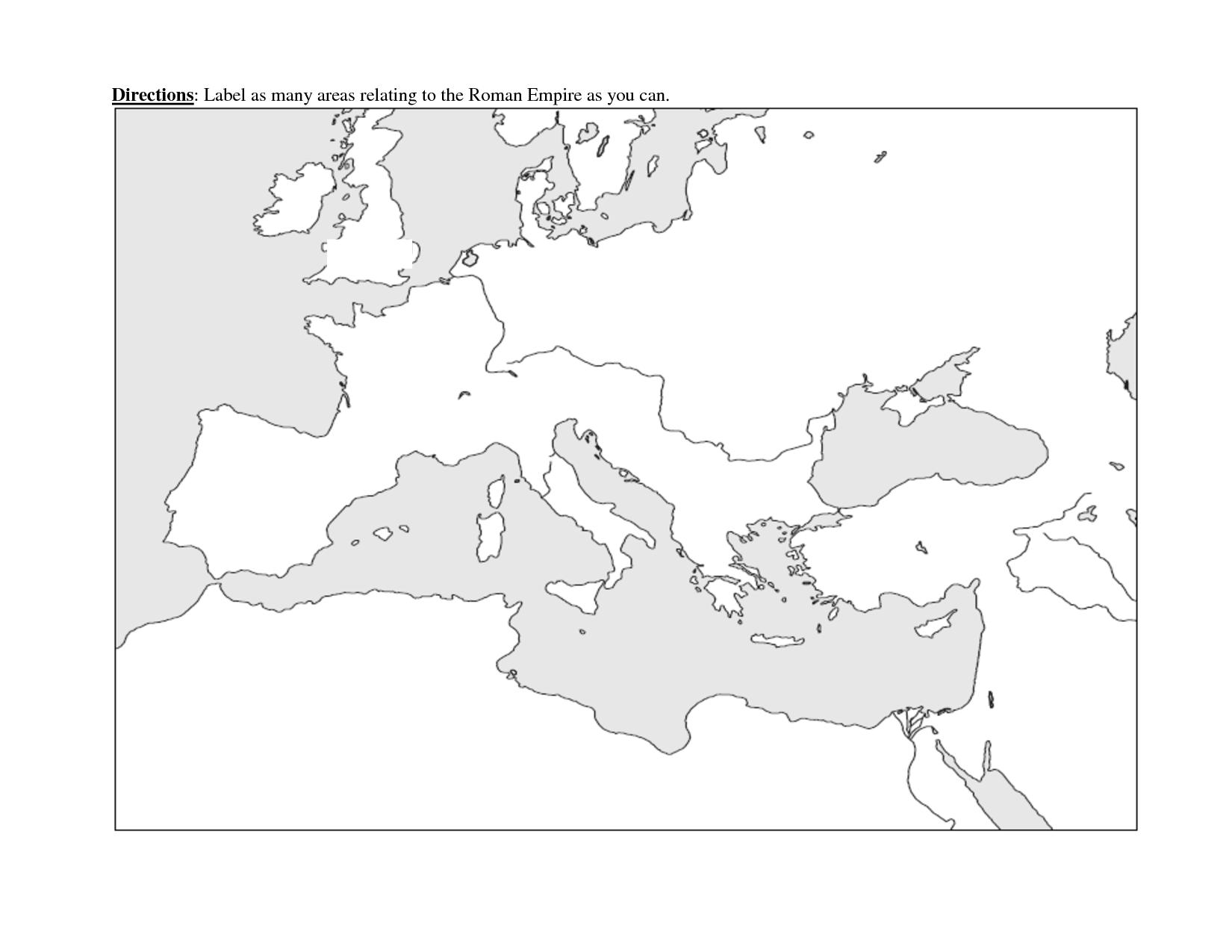 blank roman empire map - Google Search | Roman empire map, Roman ...