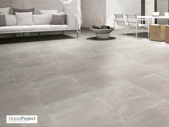 Carrelage ciment gris 60 x 60 cm naturel rectifi for Carrelage york