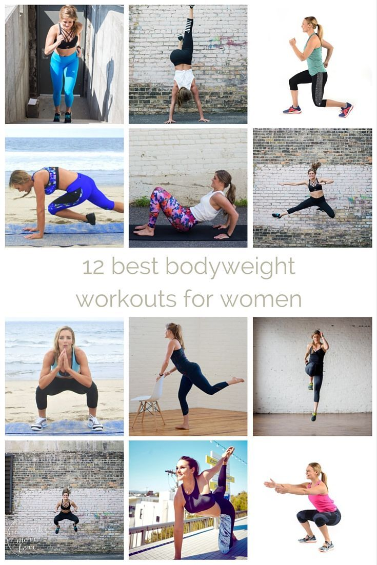 best bodyweight workouts for women workout plans and challenges