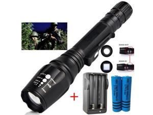 90000LM T6 LED Flashlight Rechargeable 5-Zoom Torch Lamp - Newegg.com #coolelectronics