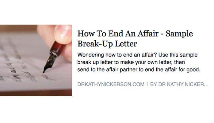 How End Affair Sample Break Letter Linkedin Lawyer Gene Schaerr