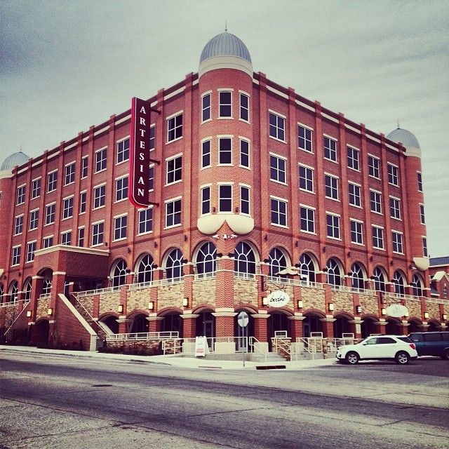 Artesian Hotel And Spa Sulphur Oklahomadate