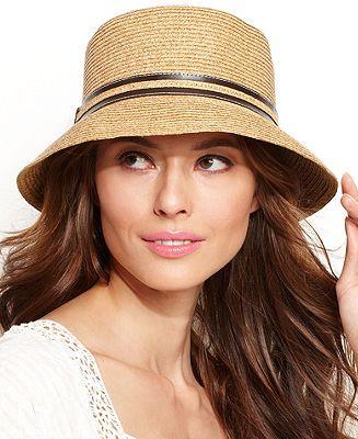 ab46bbdf4ea4da Nine West Packable Microbrim Hat - Handbags & Accessories - Macy's ...
