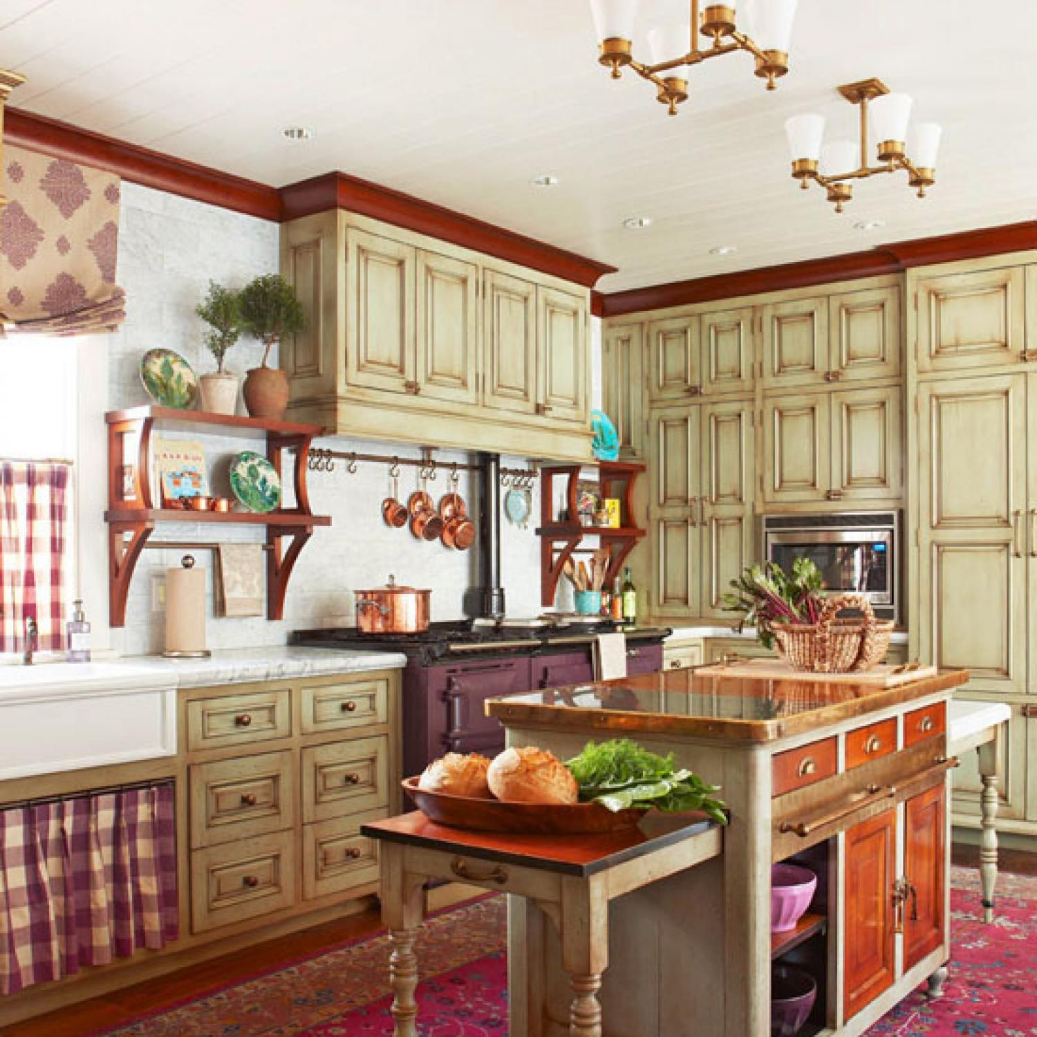 Cozy Kitchen: Cozy Kitchen With Warm Colors