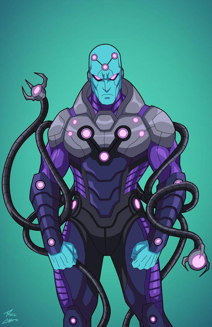 Brainiac (Earth-27) commission by phil-cho
