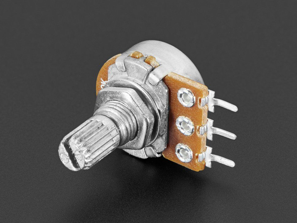Panel Mount 10k Log Potentiometer Breadboard Friendly Diy Electronics Hobby Electronics Store Fun Diys