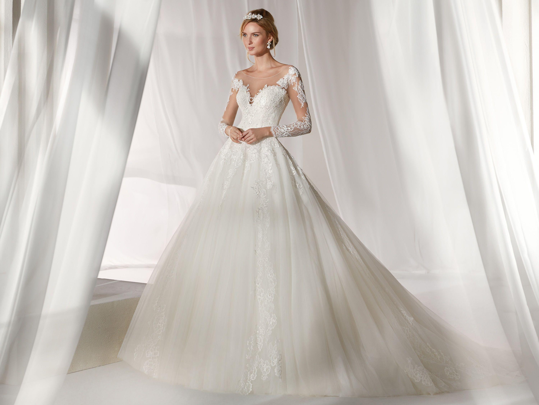 Moda sposa 2019 - Collezione NICOLE. NIAB19088. Abito da sposa Nicole. 728e980a69d