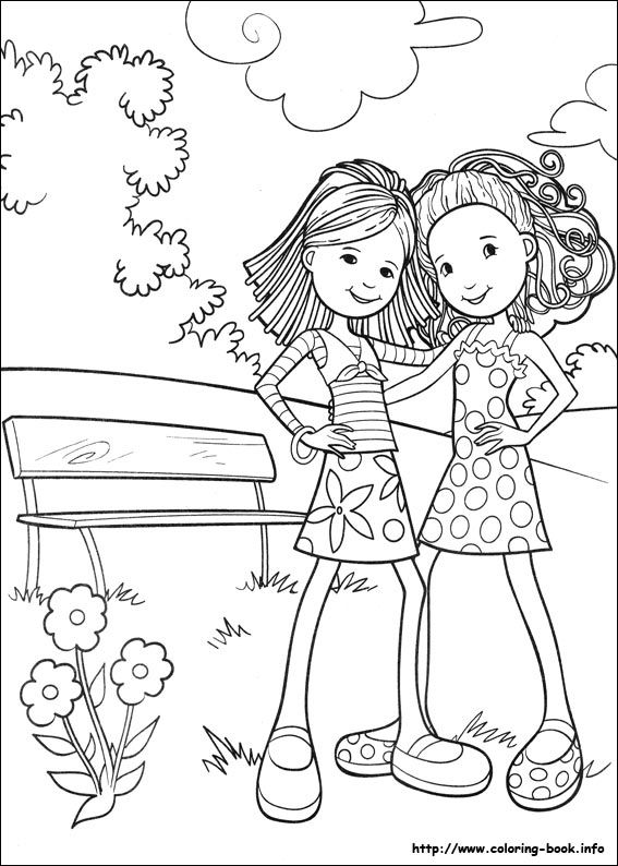 Groovy Girls coloring page  Children Learn Playing  Pinterest