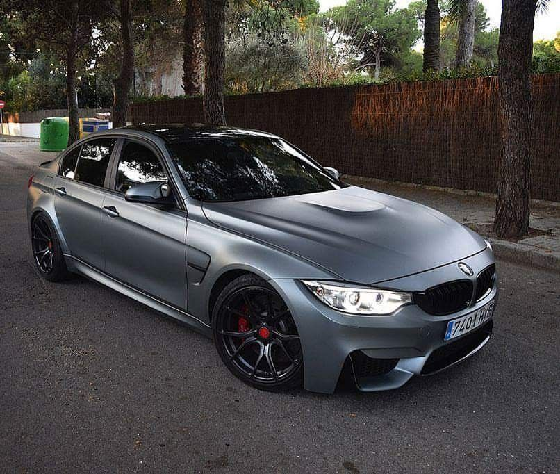 Bmw F80 M3 Matte Grey With Images Bmw Bmw Cars Best Luxury Cars