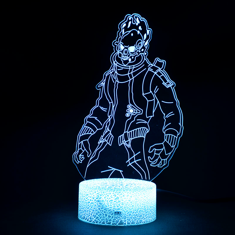 Fortnite Season 10 Eternal Voyager Skin Decoration Lamp 3d Illusion Lamp 3d Illusions Perfect Christmas Gifts