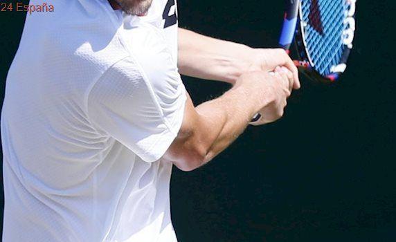 Medvedev lanza monedas a la juez de silla en Wimbledon