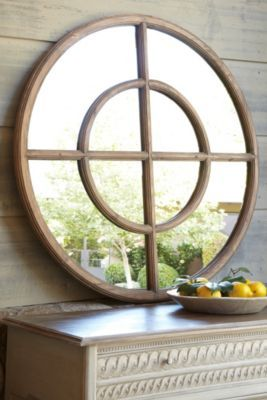 Eliseo Round Mirror from Soft Surroundings - You KNOW how I am about mirrors!  Can't have too many!