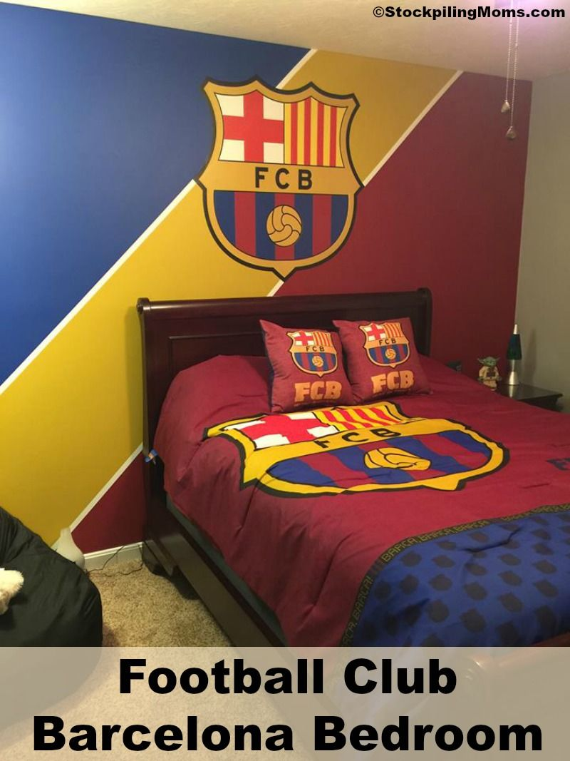 Bettwäsche Barcelona How To Create A Fc Barcelona Bedroom Fc Barcelona
