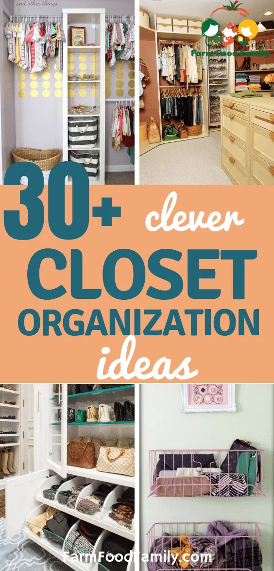 30 Clever Diy Closet Organization Ideas Designs For 2021 Closet Organization Diy Closet Organization Master Closet Organization