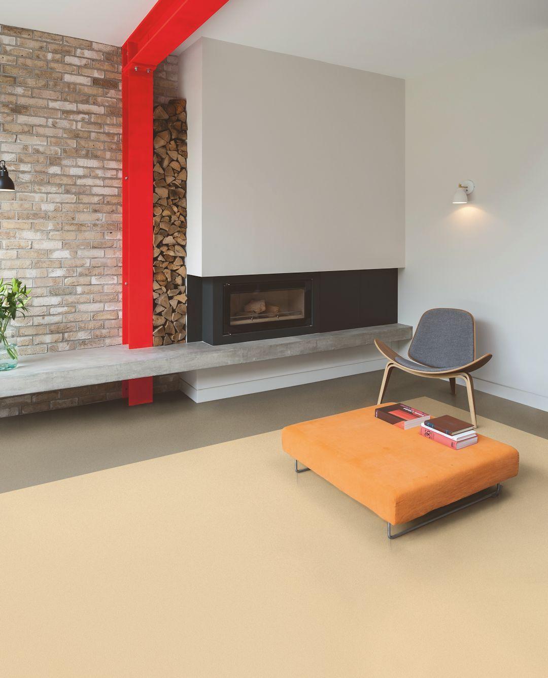 Polyflor Bloc Pur In Caramel Blush And Clay Deep Luxury Vinyl Tile Flexible Tile Vinyl Flooring