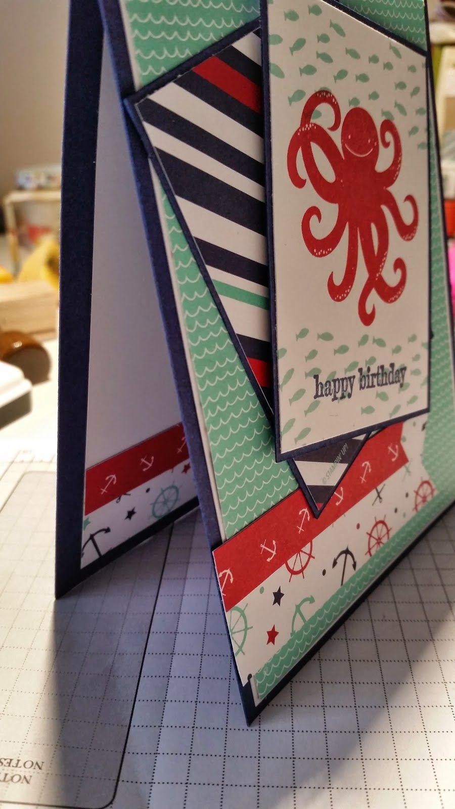 Stampin' Shimmy Style!: Sea Street - Color Challenge