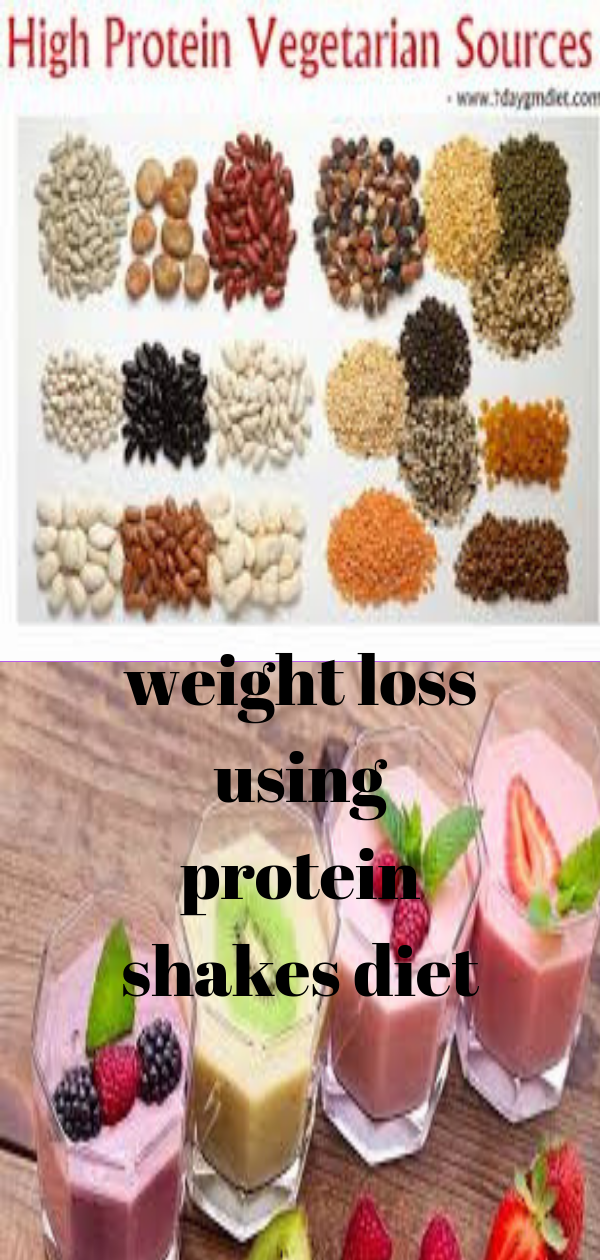 weight loss on protein shake diet