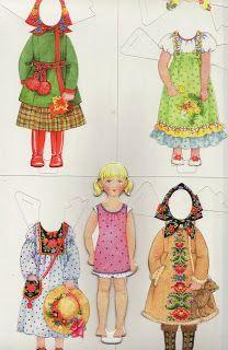 Ingrids Påklædningsdukker