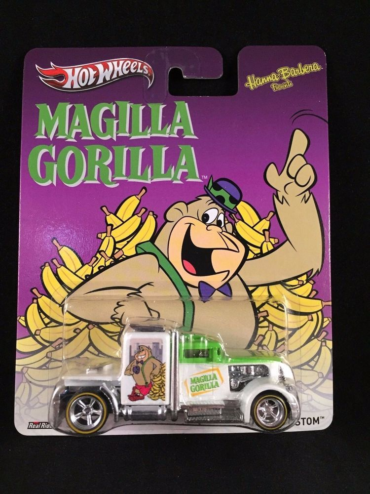 2013 Hot Wheels Pop Culture Nostalgia Hanna Barbera CONVOY CUSTOM Magilla Gorill #HotWheels #ConvoyCustom