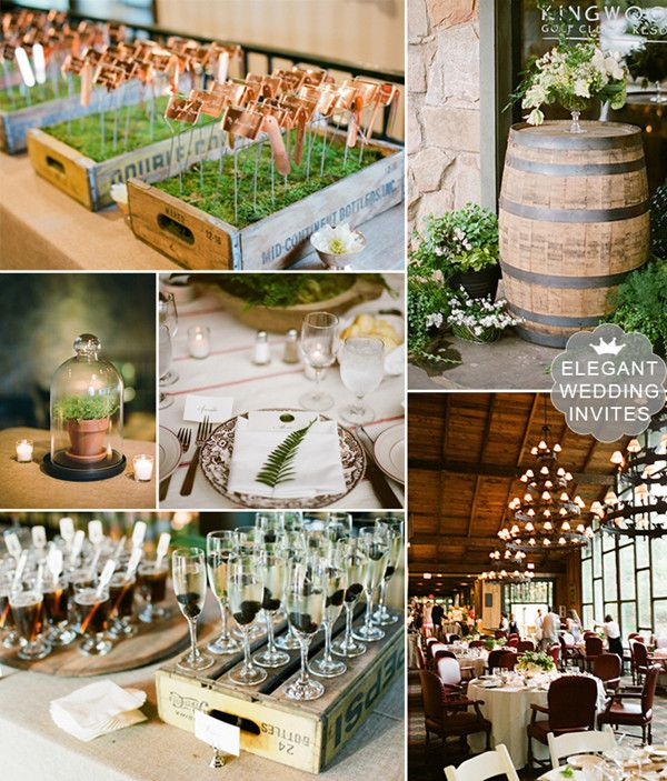 30 Inspirational Rustic Barn Wedding Ideas: Top 10 Rustic Outdoor Wedding Venue Setting Ideas For 2014