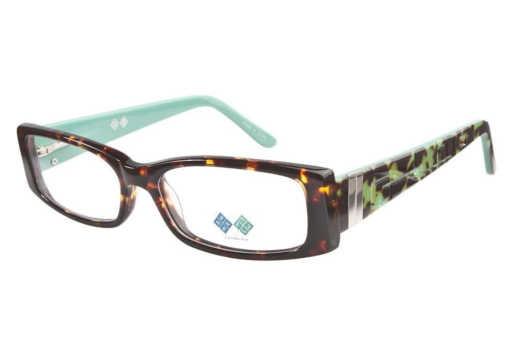 fab8556a21 Michelle Lane ML805 Turquoise Tortoise eyeglasses. Get low prices ...
