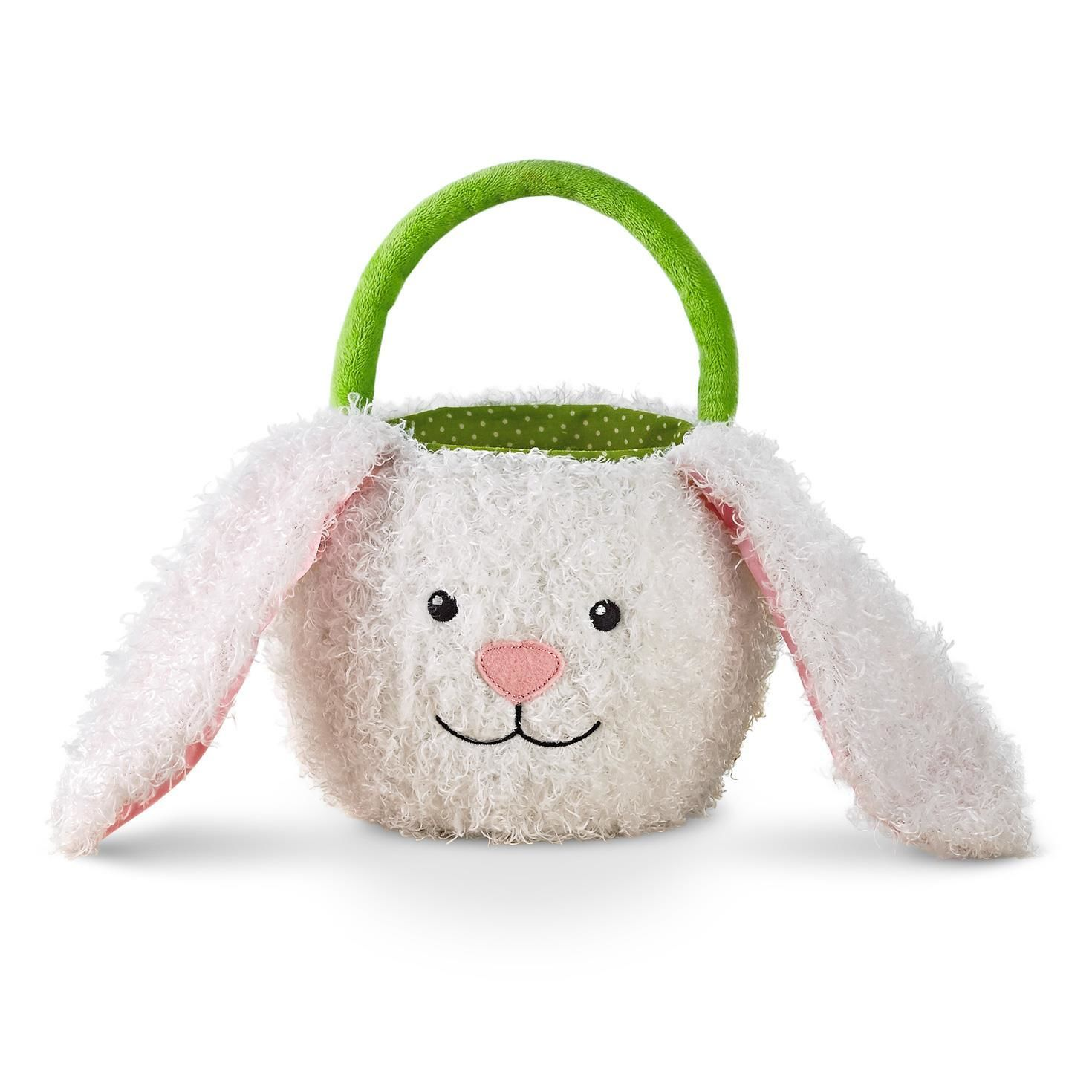 This little bunny basket is all ears perfect size for kids easter perfect size for kids easter egg hunts negle Choice Image
