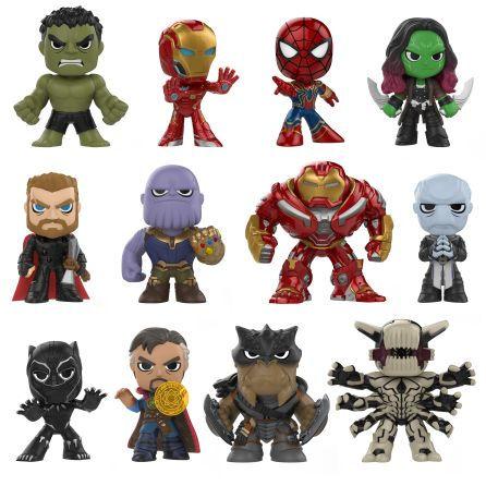 Mystery Mini Avengers Infinity Set 1 Blind Box Mystery Minis Funko Mystery Minis Marvel Avengers
