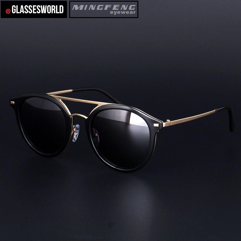 100fa1a51c4 New style fashion men pilot sunglasses with acetate and alloy sun glasses