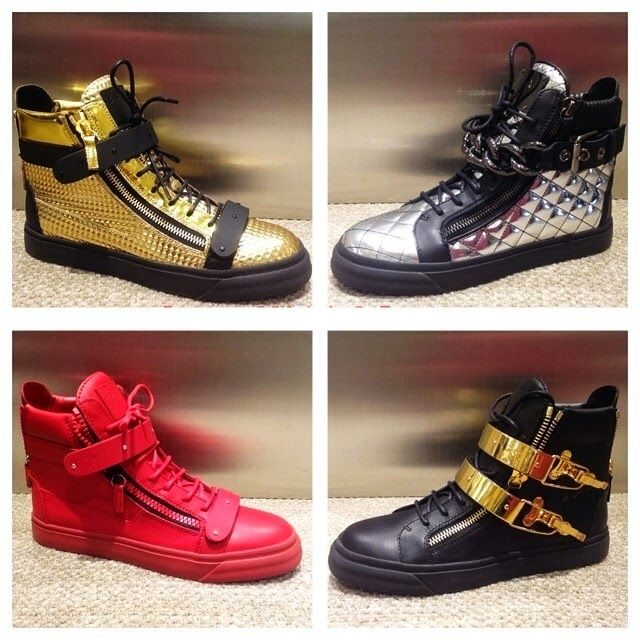 zanotti shoes red and gold - Google Search