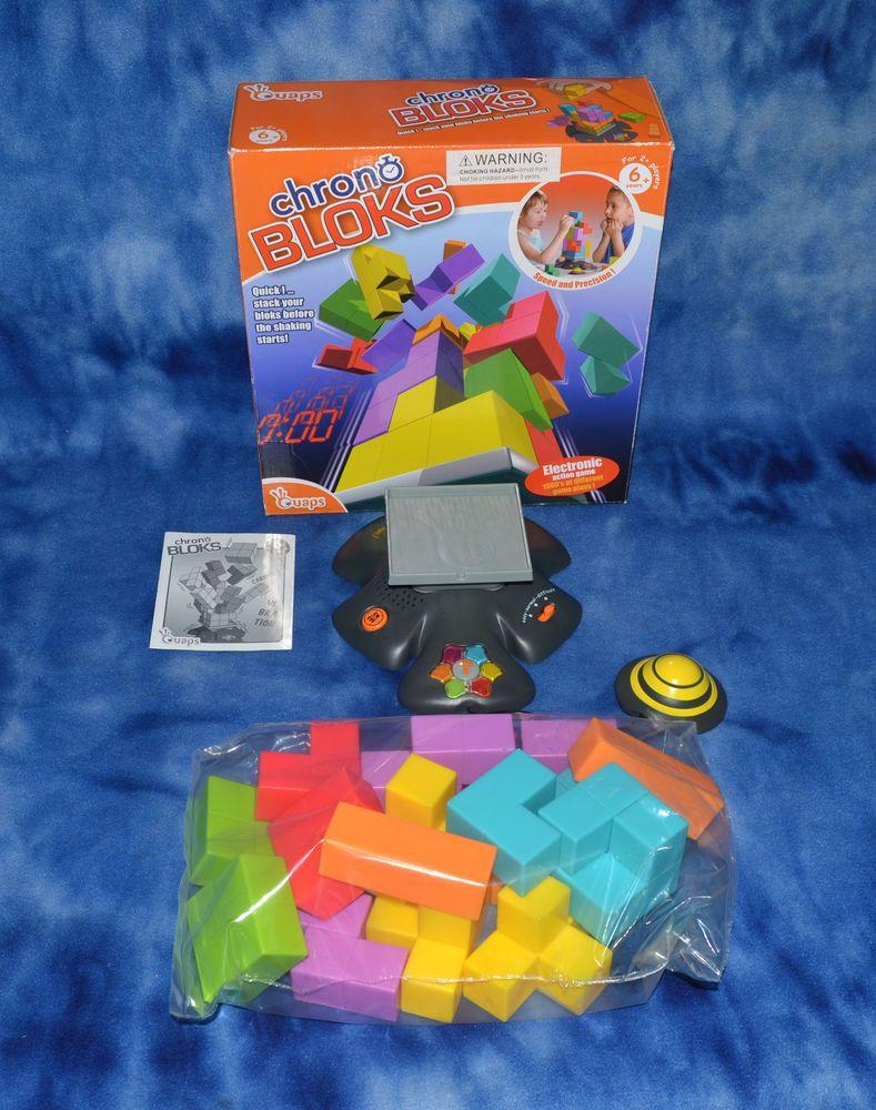Chrono Block Electronic Building Block Game by Quaps HARD
