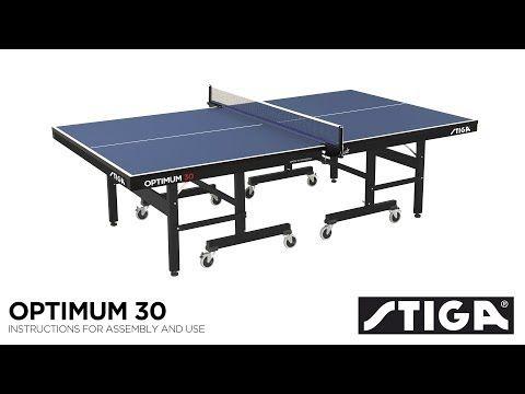 Table Tennis Table: Stiga Optimum 30mm table – Blue | Pinterest