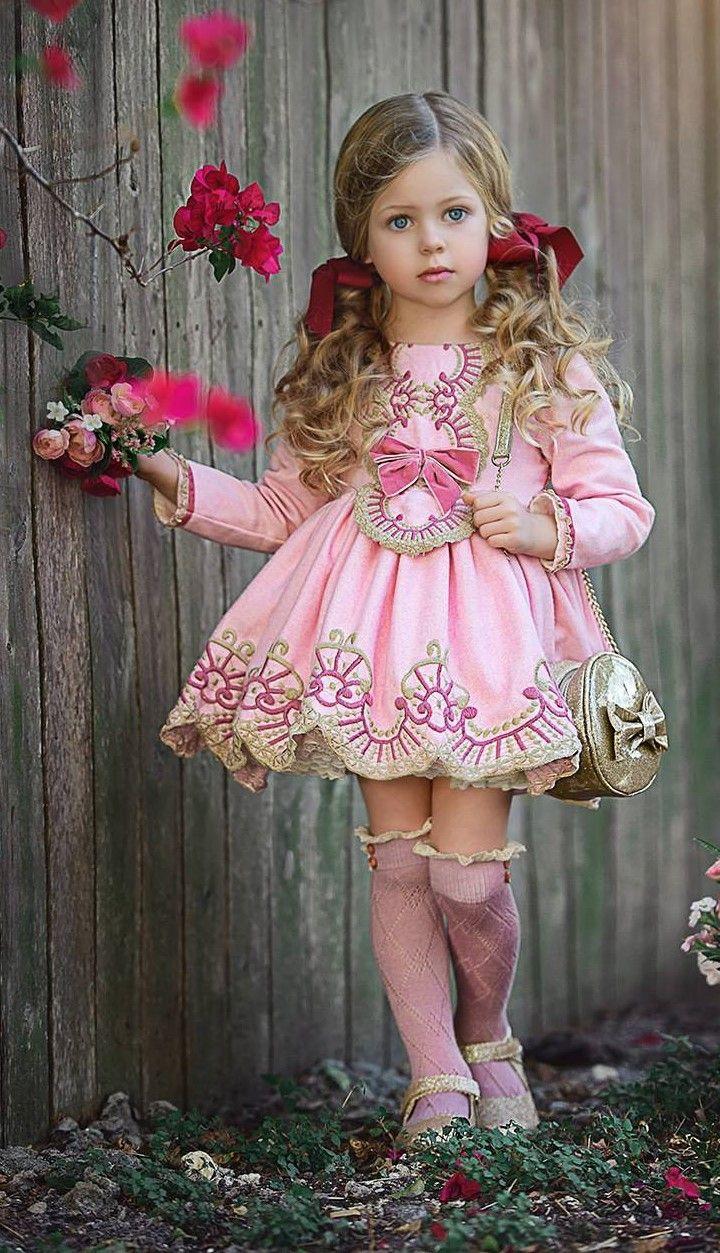 LA AMAPOLA (I: 01/18) | fiesta | Pinterest | Moda infantil, Vestido ...