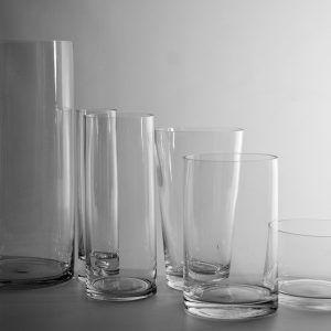 tall glass flower vases bulk