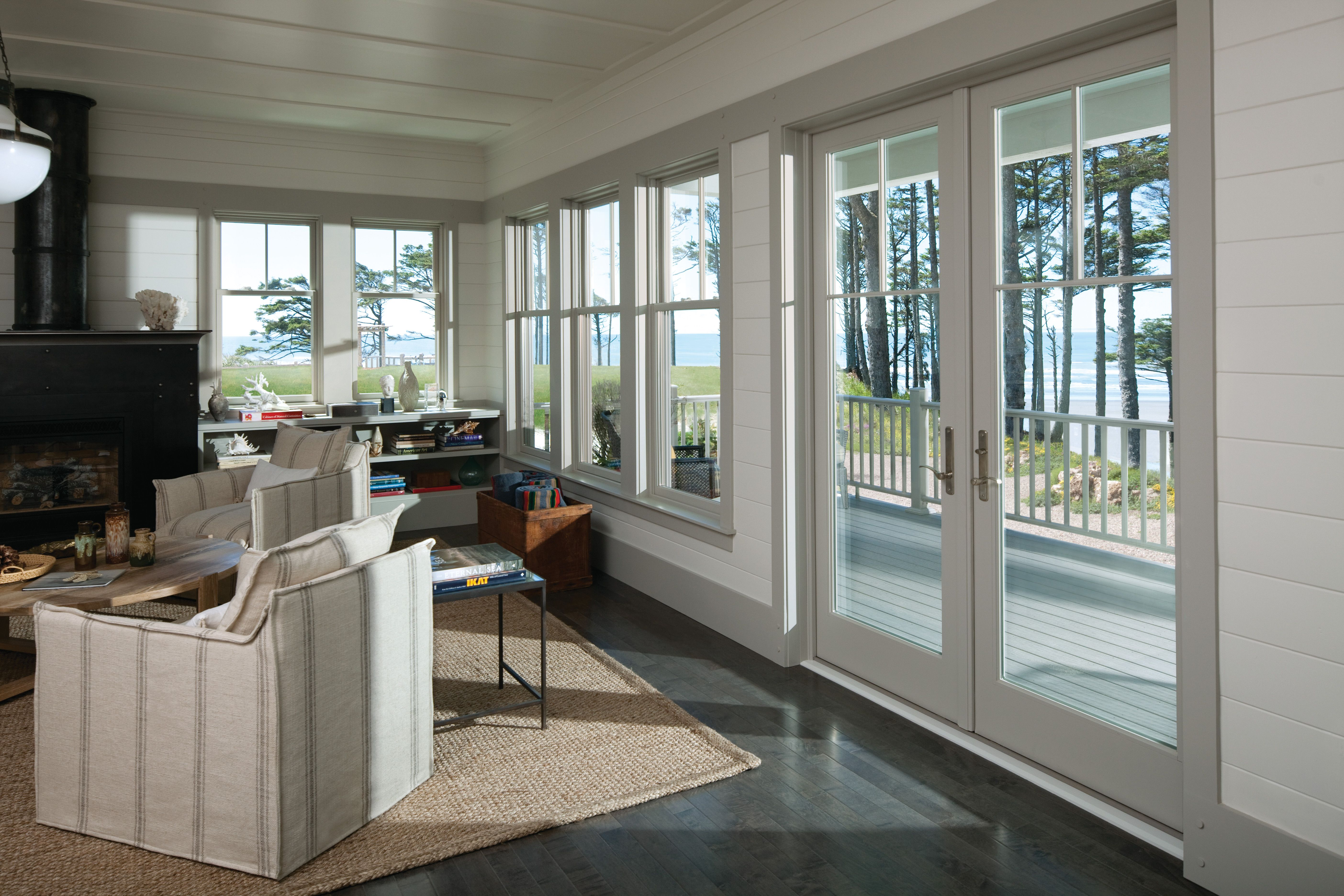 Add Classic Elegance To Any Home With Renewal By Andersen Double Hung Replacement Windows Our Double Hung W Hinged Patio Doors Impact Windows Coastal Cottage