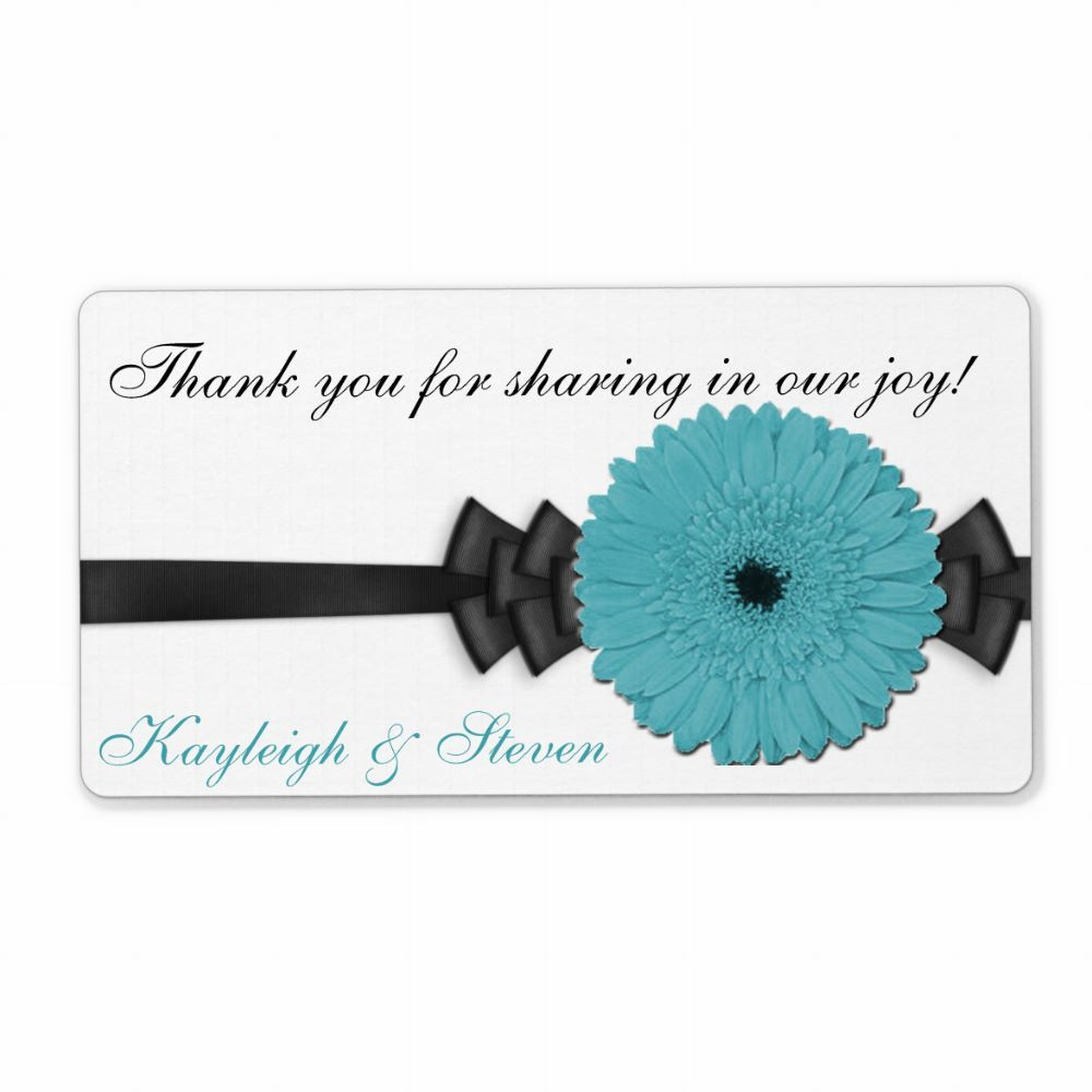 Gerber Daisy Wedding Favor This great sticker is perfect for your ...