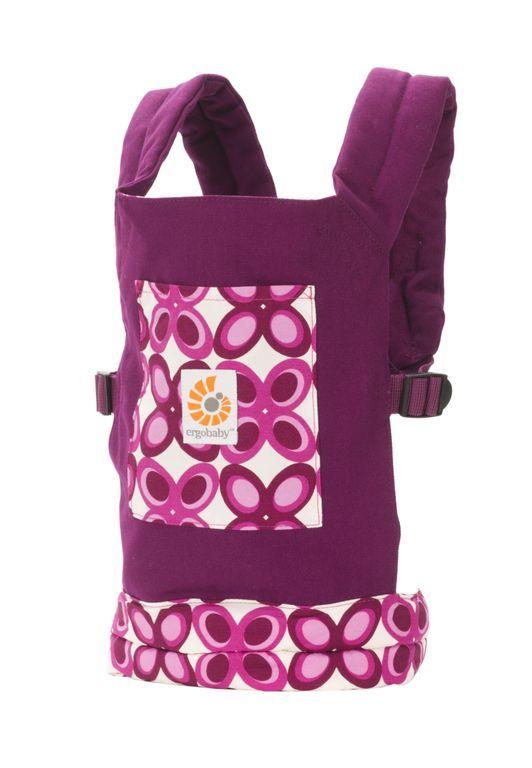 35ced614b9f Ergo Doll Carrier - Purple Mystic