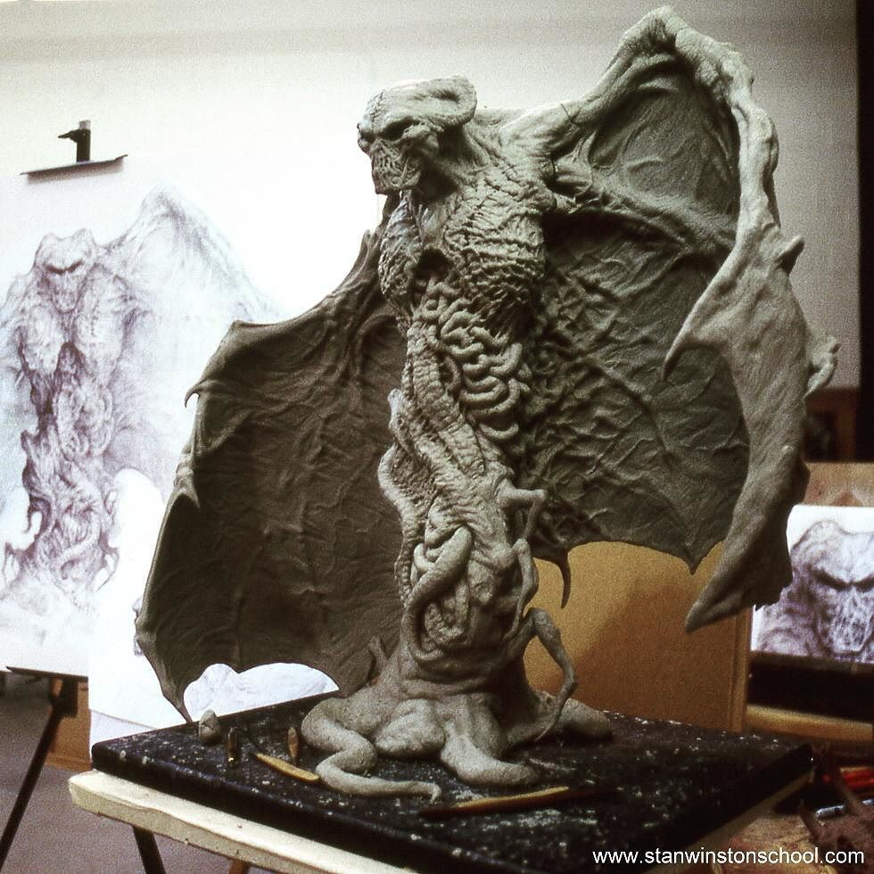 The Final Design Maquette For The Look Of The #satan In