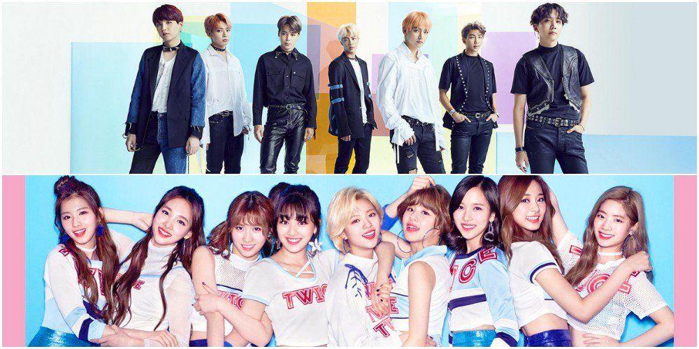 Multiple K Pop Groups Rank On Line Japan S Top 10 Most Popular Idol Group Rankings Pop Group Kpop Line Japan