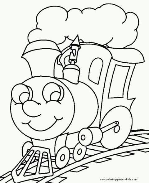 Pin By Romana Baskovska On Omalovanky Train Coloring Pages Preschool Coloring Pages Coloring Book Pages