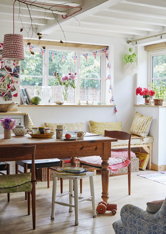 This Dreamy Sussex Cottage Experiments With Bold Patterns And Prints