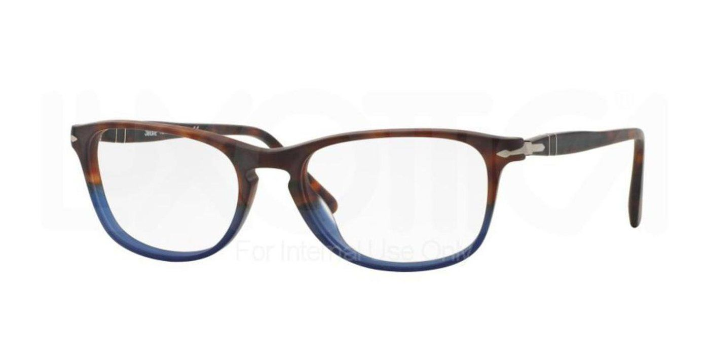 Persol Eyeglasses 3116 9033, Earth And Ocean Frame Plastic, 52mm ...