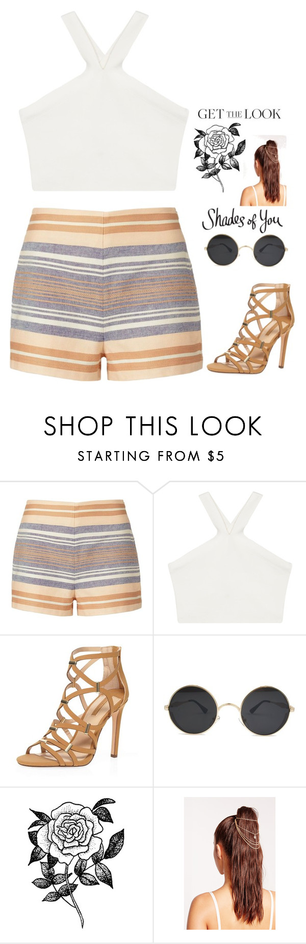 """""""Mixed up"""" by captianoats ❤ liked on Polyvore featuring Solid & Striped, BCBGMAXAZRIA, Dorothy Perkins, Forever 21 and Missguided"""