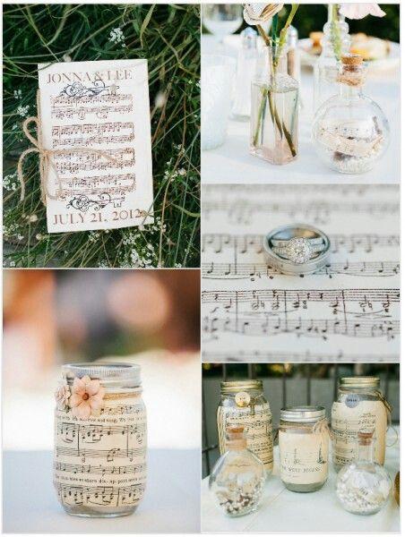 Music Theme Wedding Idea