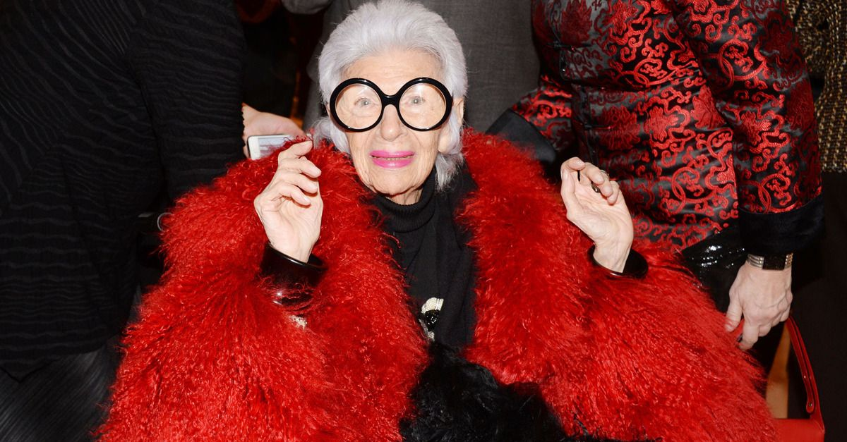 From Carmen Dell'Orefice to Bethann Hardison, these women prove style has no age limit.