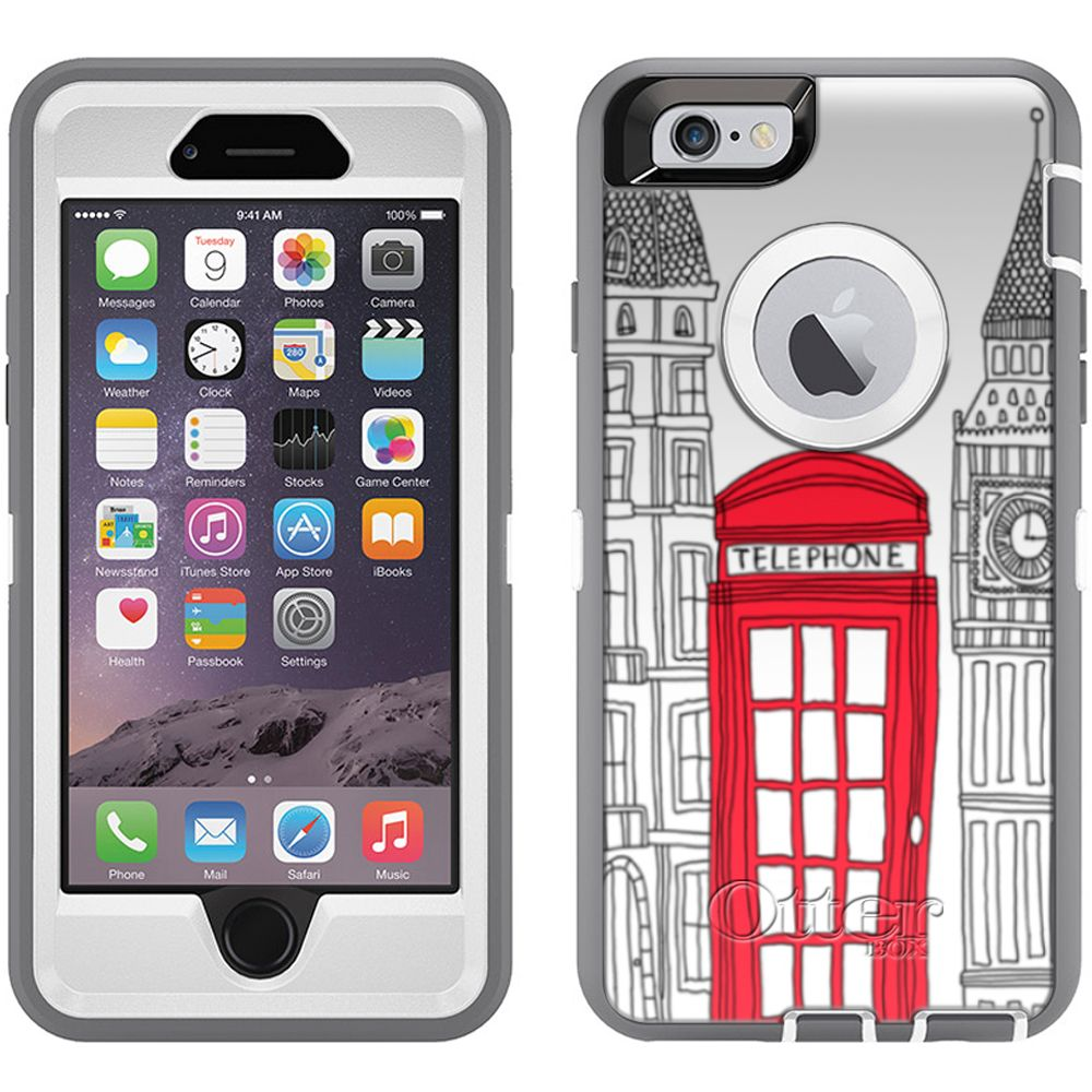 Otterbox Defender London Red Telephone Booth Case for