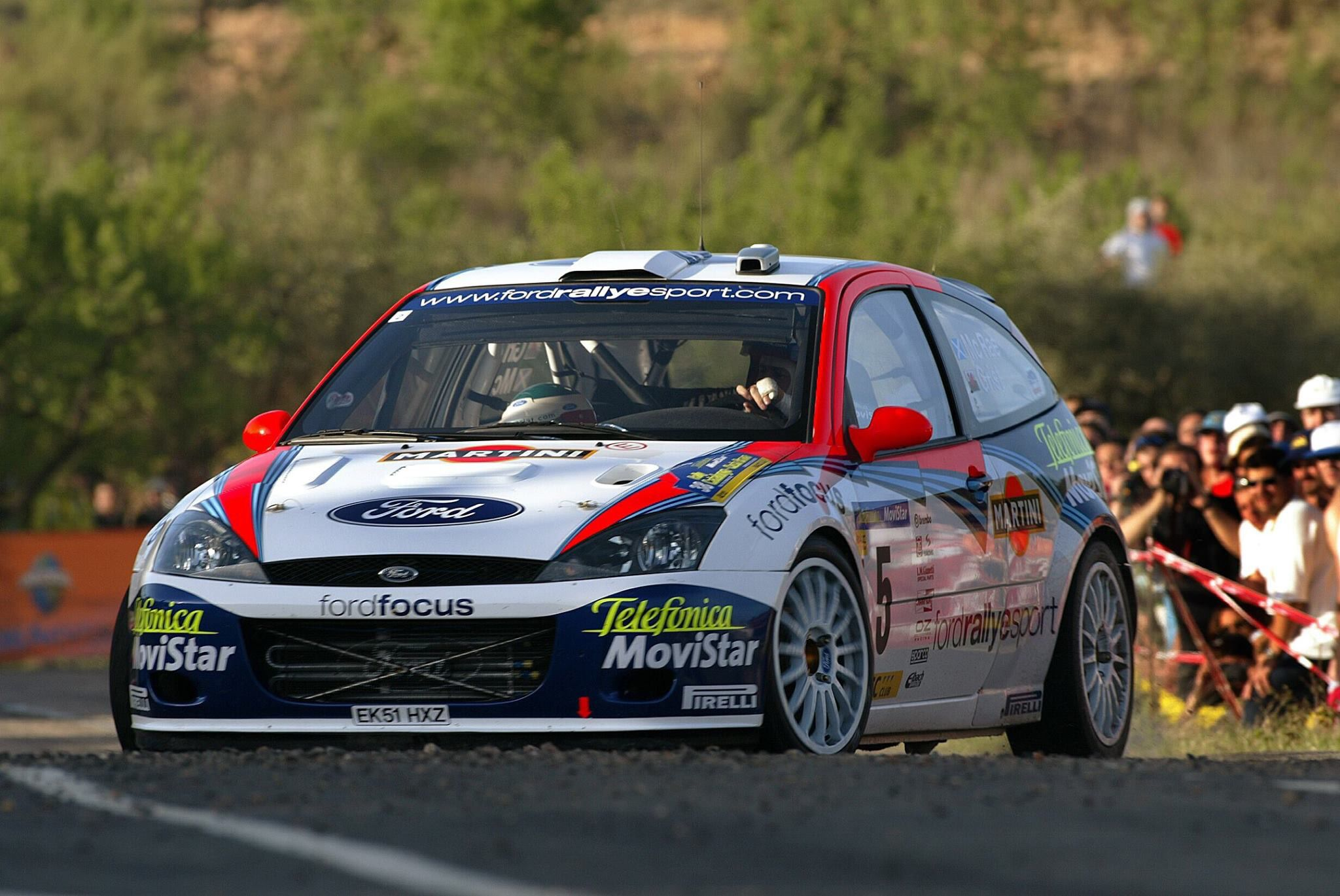 Ford Focus Wrc Collin Mcrae Rally Ford Motorsport Ford Focus
