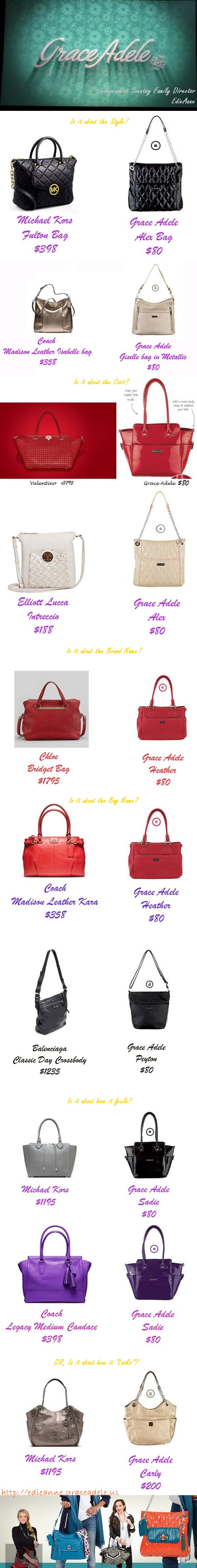 """Is it the style, the color, the name, the brand or the """"Look"""" http://edieanne.graceadele.us"""