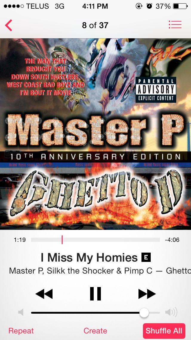 #MasterP #iMissMyHomies